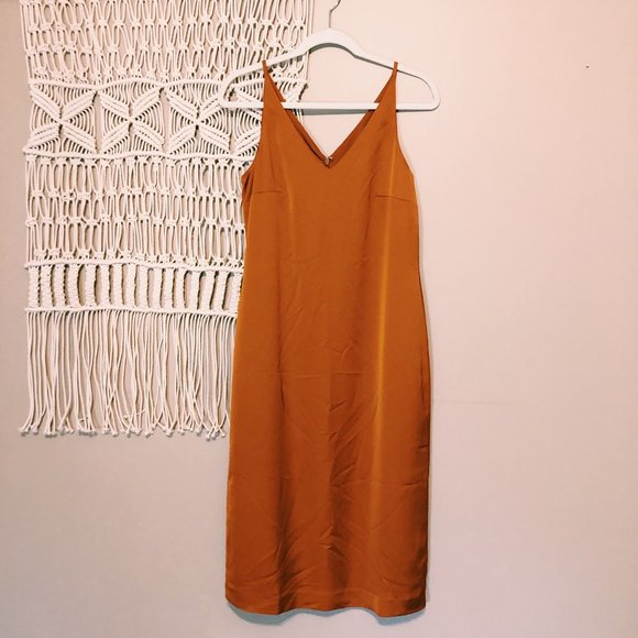 J. Crew Dresses & Skirts - NWT J. Crew Midi Slip Dress in Adobe